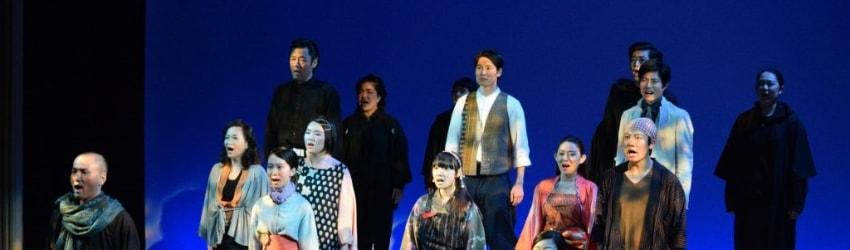 写真:しらかわ演劇塾 公演の様子