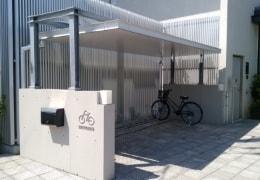 写真:駐輪場