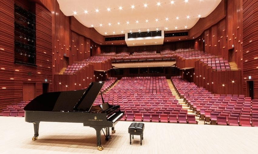 写真:大ホール