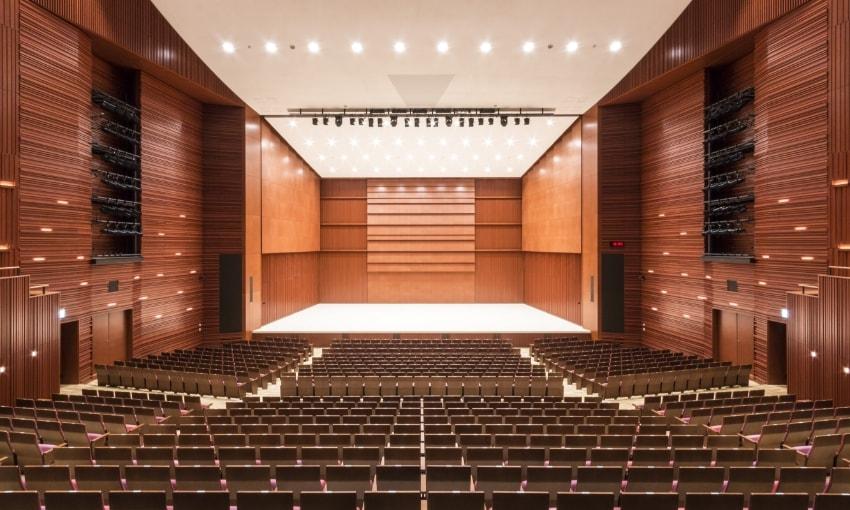 写真:大ホール客席からの眺め