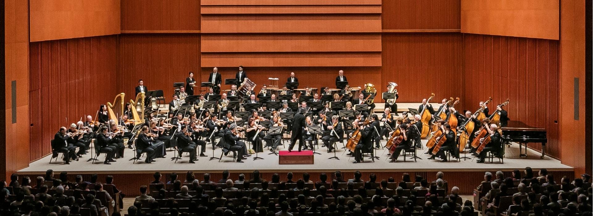 写真:オーケストラ演奏風景
