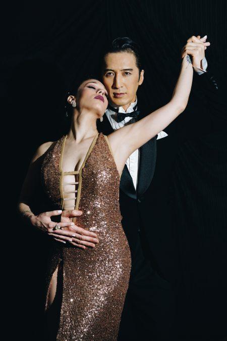 アルゼンチンタンゴダンス2人写真